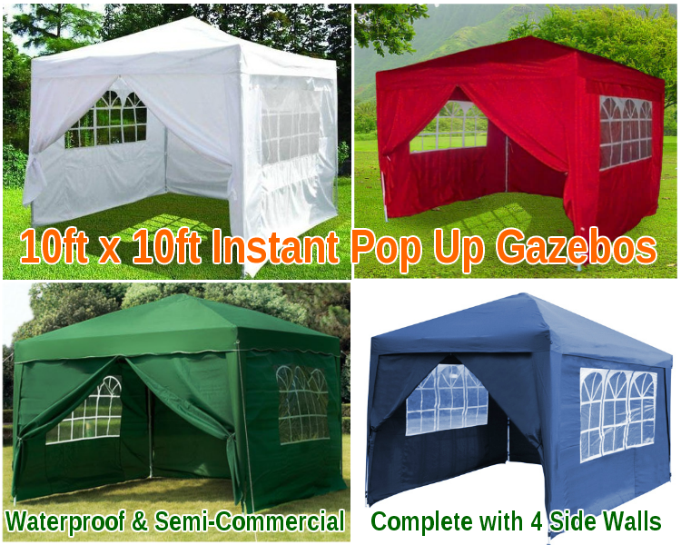 3M x 3M Pop Up Gazebo - Semi Commercial