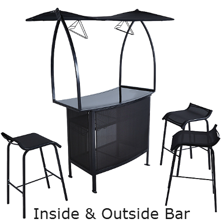 4 Piece Outdoor & Indoor Bar