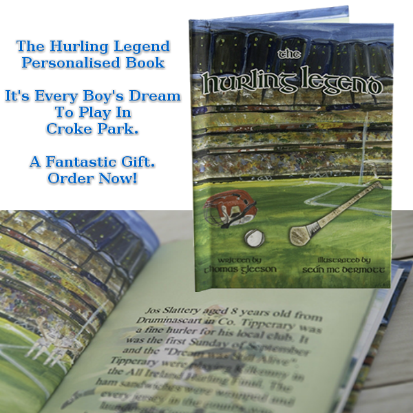 Hurling Legend Personalised Book