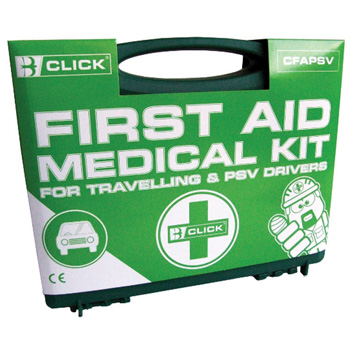 Travelling & PSV First Aid Kit (1-5 People)