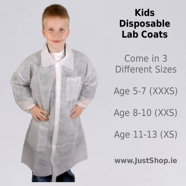 50 Disposable Coats for Kids